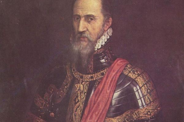 Тициан Вечеллио. Дон Фернандо Альварес Толедский, герцог Альба