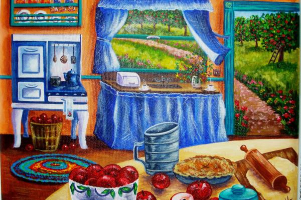 Olga Morozova. Country kitchen