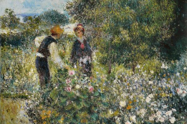 Пьер Огюст Ренуар. Собирание цветов