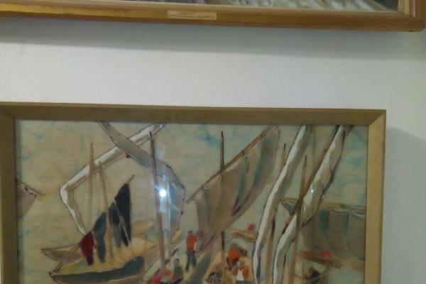 Igor Vladimirovich Corti. Landscape with boats