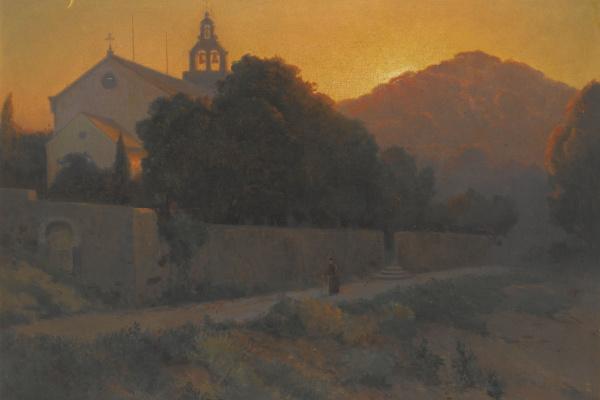 Алексей Васильевич Ганзен. Церковь в Дубровнике