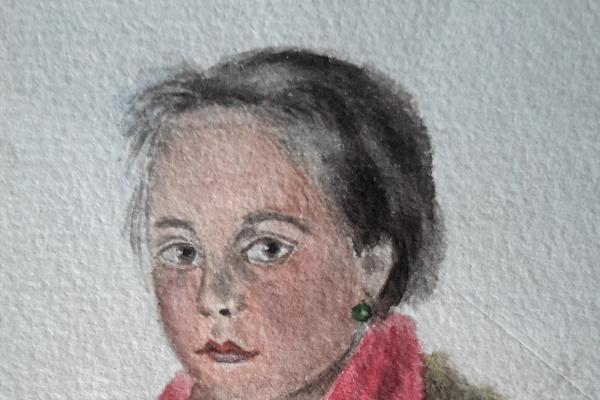 Иоил Ионович Левит. Портрет девочки