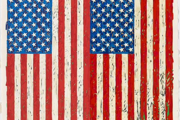 Джаспер Джонс. Флаги I