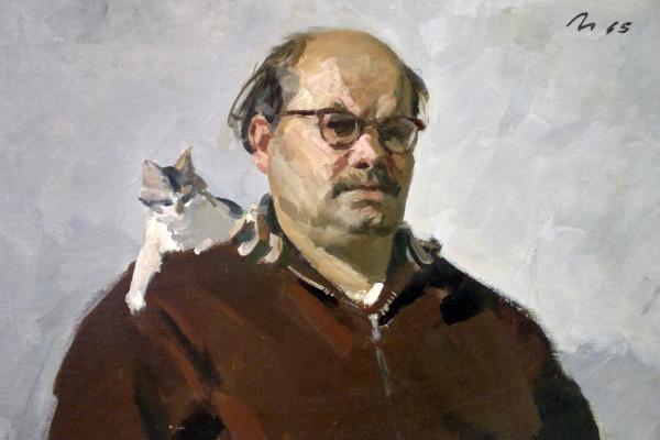 Виктор Григорьевич Цыплаков. Автопортрет