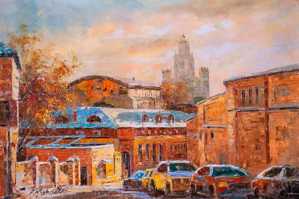 Andrzej Vlodarczyk. Walking the streets of Moscow