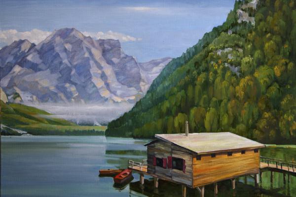 Alan Albegov. Lake braies
