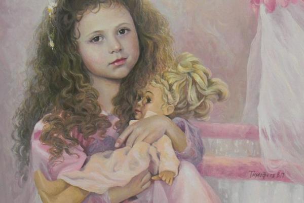 Владимир Петрович Тимофеев. Колыбельная для куклы