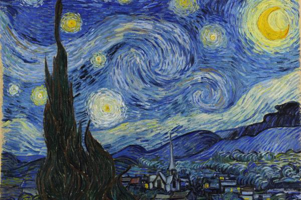Vincent van Gogh. Starry night
