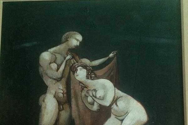 Vasily Ryabchenko. Triptych