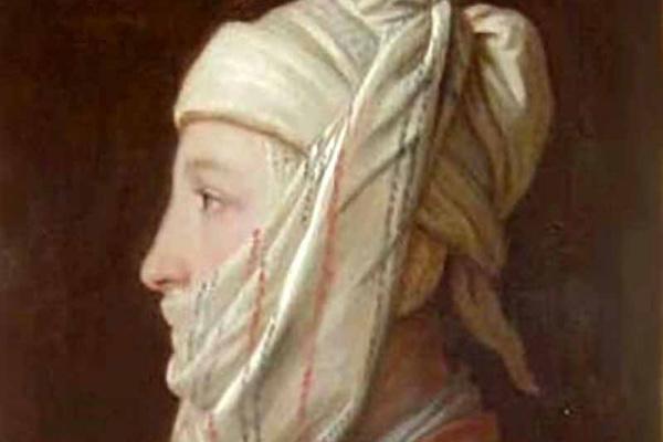 Пьетро Ротари. Девушка в белой повязке наподобие тюрбана (крестьянка)