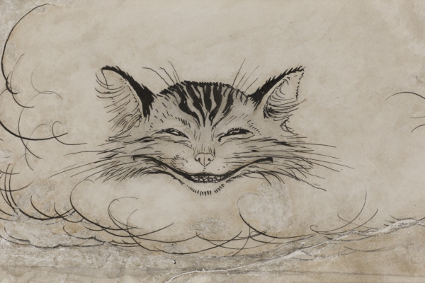 Arthur Rackham. Cheshire Cat
