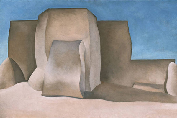 Georgia O'Keeffe. Ranchos Church, No. II
