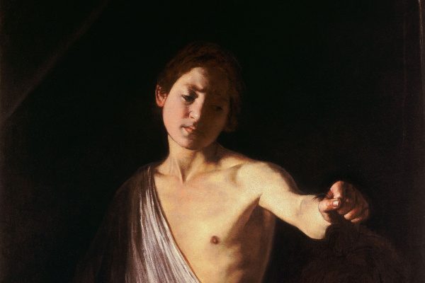Michelangelo Merisi de Caravaggio. David with the head of Goliath