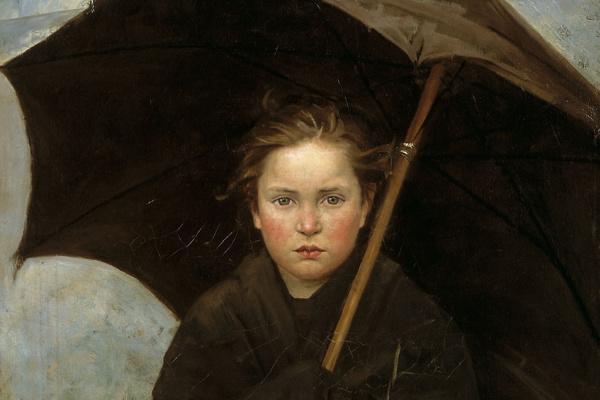 Мария Константиновна Башкирцева. Дождевой зонт