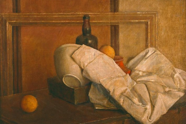 Изабель Бишоп. Натюрморт с апельсинами