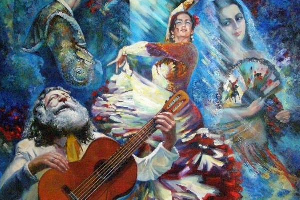 Elena Anatolyevna Berezina. Flamenco