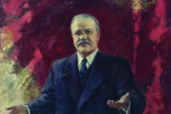 Александр Михайлович Герасимов. Большой театр 6 ноября 1947 года. 1948