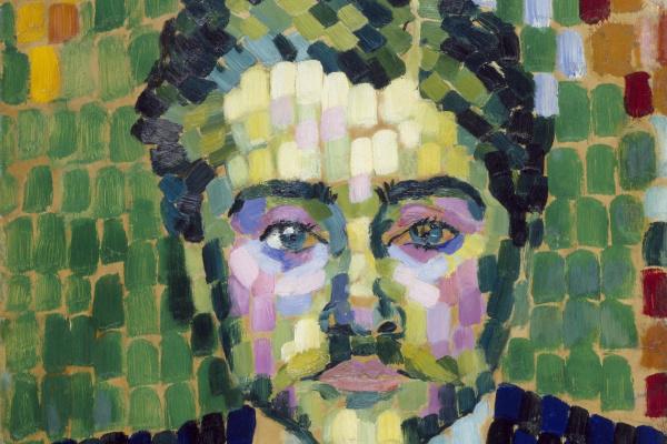 Robert Delaunay. Portrait of Jean Metzenge