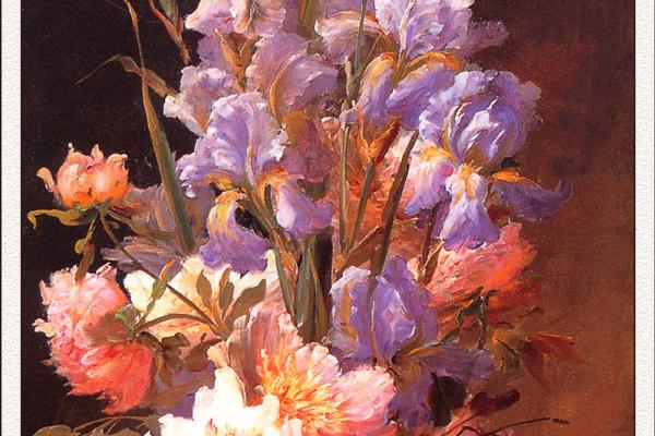 Альфред Годчауз. Ирис и розы