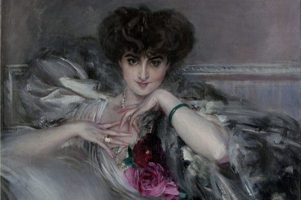 Джованни Больдини. Ritratto della principessa Radzwill