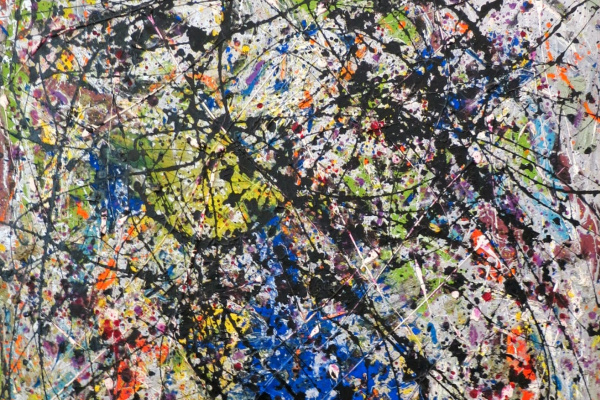 Jackson Pollock. The Reflection Of The Big Dipper