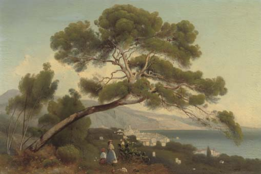 Nikolay Ivanovich Yurasov. Landscape of the south of france