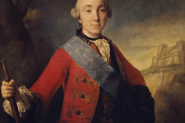 Fedor Stepanovich Rokotov. Portrait of great Duke Peter Fedorovich