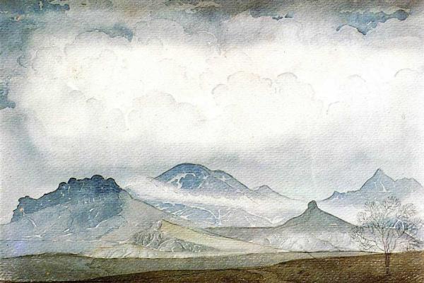 Максимилиан Александрович Волошин. Карадаг в облаках