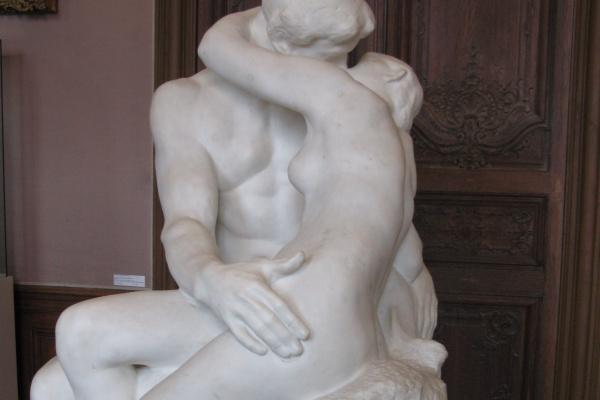 Огюст Роден. Поцелуй