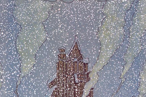 Майкл Гаага. Снегопад