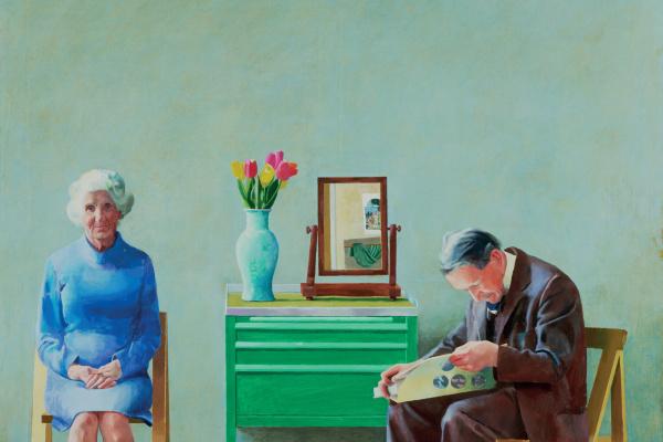 David Hockney. My parents