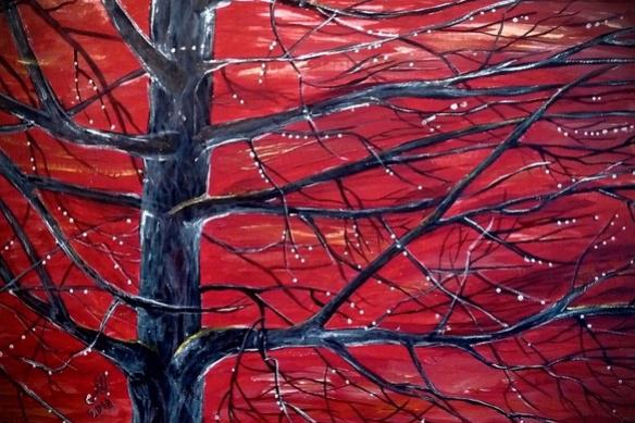 Марина Бочарова. Дерево после дождя