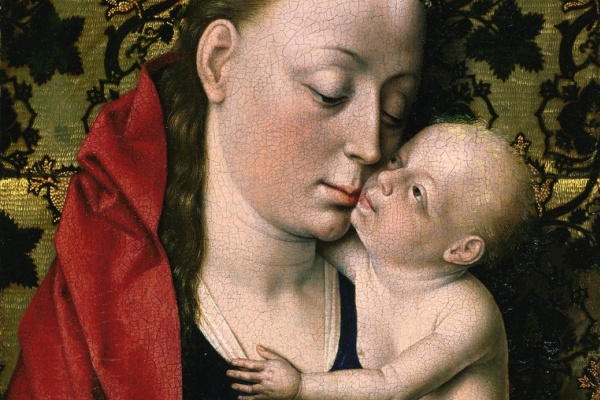 Дирк Баутс. Мастерская Дирка Боутса. Мадонна с младенцем 1475-1500