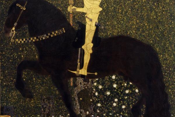 Густав Климт. Жизнь в бою - Золотой рыцарь