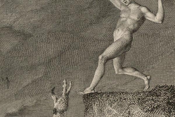 """Уильям Блейк. Собака. Иллюстрации к Вильяму Хейли """"Баллады о животных"""""""