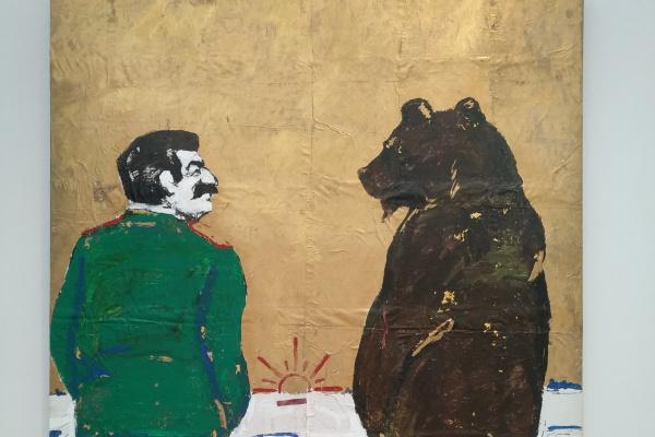 Леонид Петрович Соков. Сталин и медведь