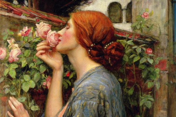 Джон Уильям Уотерхаус. Моя сладкая роза (Душа розы)