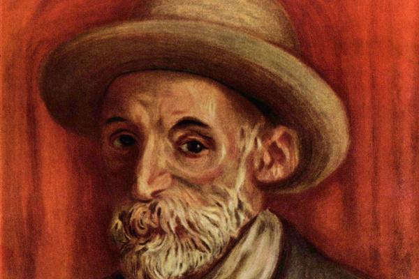 Pierre-Auguste Renoir. Self-portrait