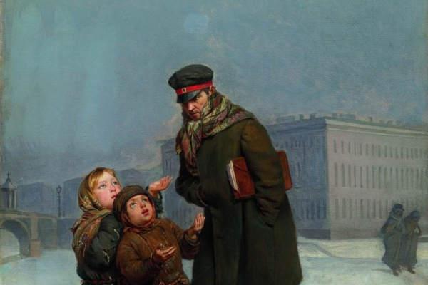 Фирс Сергеевич Журавлев. Дети-нищие