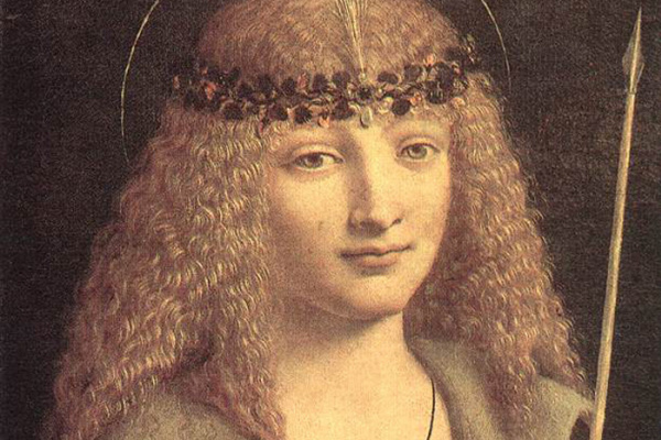 Джованни Антонио Болтраффио. Святой Себастьян