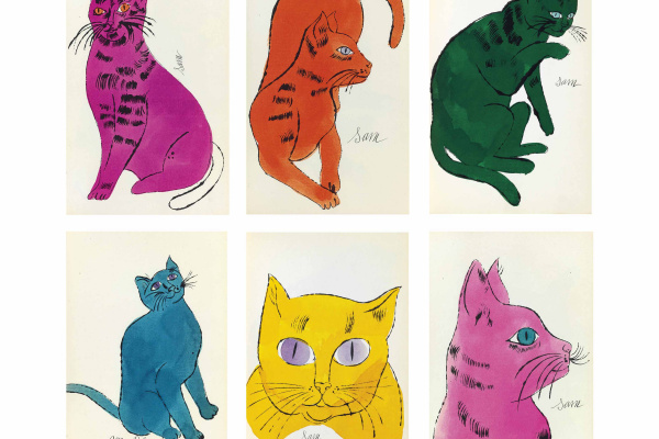 Andy Warhol. 25 Cats Name[d] Sam and one Blue Pussy