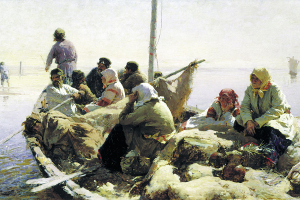 Abram E. Arkhipov. On the river Oka