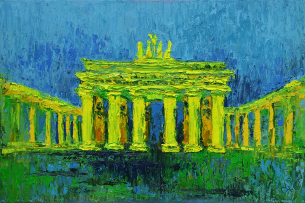 Tanya Vasilenko. Brandenburg Gate