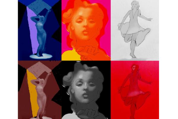 Sergey Konstantinov. Marilyn Monroe