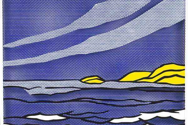 Roy Liechtenstein. Sea Shore