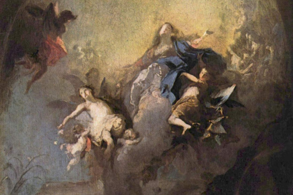 Франц Антон Маульберч. Вознесение Марии
