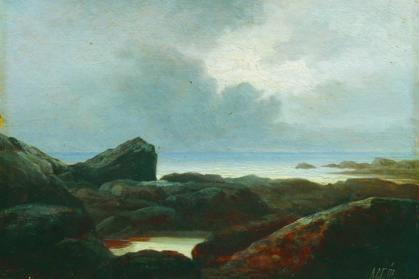Лев Феликсович Лагорио. Залив. 1860-е