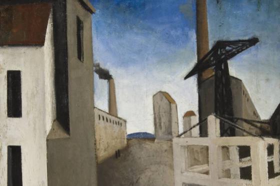 Марио Сирони. Городской пейзаж