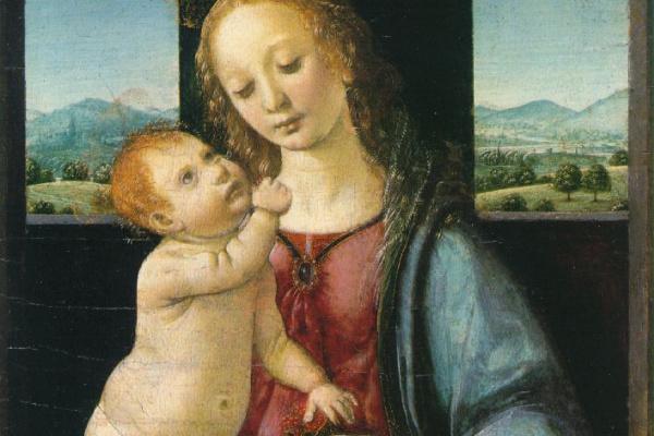 Леонардо да Винчи. Мадонна