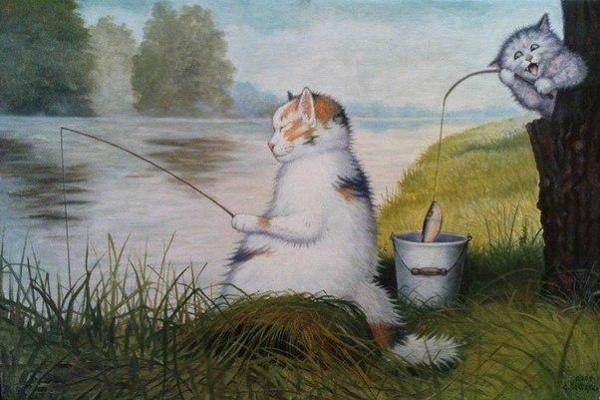 Stepan Vladimirovich Kashirin. Fishing